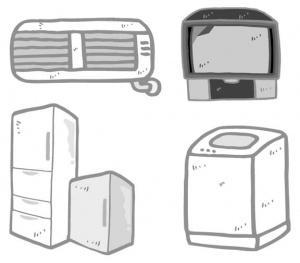 家電リサイクル品目